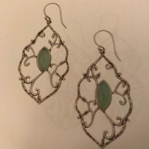 Silpada Wandering Ivy Earrings Item No W2459